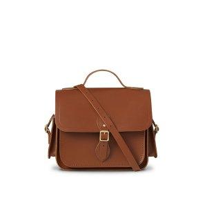 Dark BrownTraveller Bag with Side Pockets | The Cambridge Satchel Company