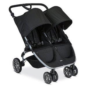 Britax 2016 B-Agile Double Stroller, Black