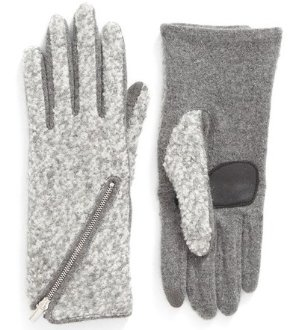 $29.25 + Free Shipping Echo 'Touch - Zip Bouclé' Tech Gloves @ Nordstrom