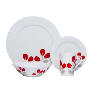 Up to 75% off Red Vanilla Dinnerware Closeouts @ Overstock