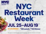 Spend $35 Get $5 Back During Restaurant Week in NYC