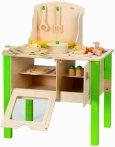 $64.97 史低价 Hape 儿童实木厨房玩具套装