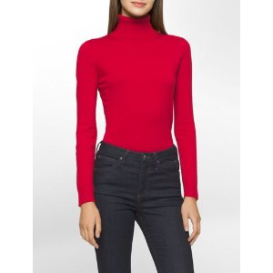 solid turtleneck sweater