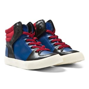 Little Marc Jacobs Colour Block Hi-Top Trainers