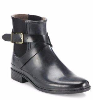 $159.99(原价$325)Burberry 黑色绑带短靴
