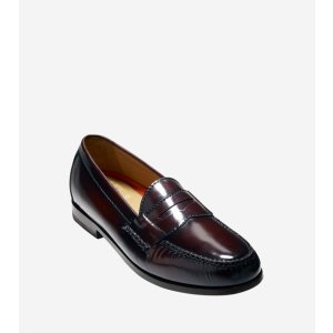 Pinch Grand Penny in Burgundy   Cole Haan