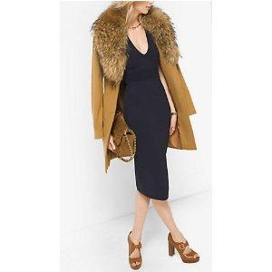 MICHAEL MICHAEL KORS Fur-Trimmed Wool And Cashmere Coat