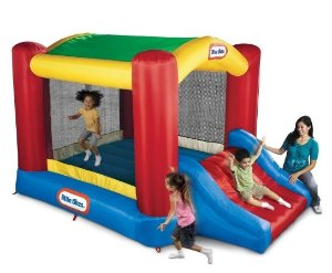 Little Tikes Shady Jump N Slide