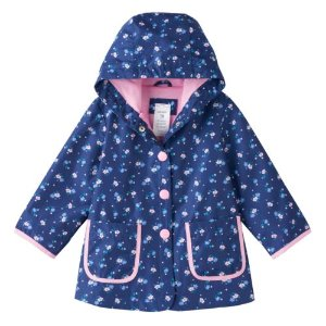 Baby Girl Carter's Floral Water-Resistant Rain Jacket