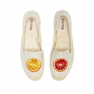 Soludos Tangerine Sand Smoking Slipper for Women - Soludos Espadrilles
