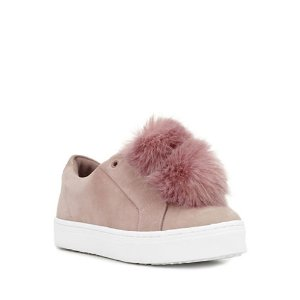 SAM EDELMAN Leya Slip-On Suede Sneakers