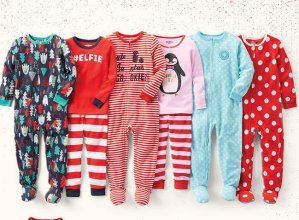 All Sizes $10 + Free Shipping Kids PJs Cyber Monday Doorbuster @ OshKosh BGosh