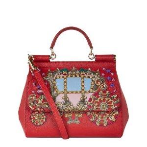 Dolce & Gabbana Medium Sicily Carriage Top Handle Bag| Harrods
