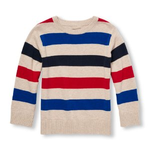 Toddler Boys Long Sleeve Striped Sweater | The Children's Place