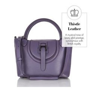 Halo mini cross body bag thistle Double 12 sale