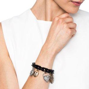 Lulu Frost | Blackheart charm bracelet