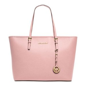 MICHAEL Michael Kors Jet Set Travel Top Zip Tote - Handbags & Accessories - Macy's