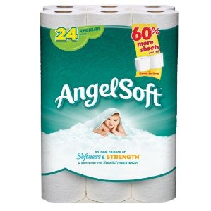 Angel Soft Bath Tissue, 24 Regular Rolls