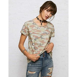 Don't Ask Why Tomgirl T-Shirt, Olive | American Eagle Outfitters