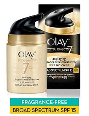 Olay Total Effects 7-in-1 Anti-Aging UV Moisturizer with SPF 15, 1.7 oz.