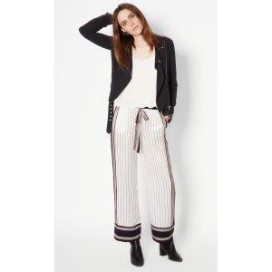 Women's KATE MOSS AVERY SILK PAJAMA PANTS made of Silk | Women's Kate Moss by Equipment