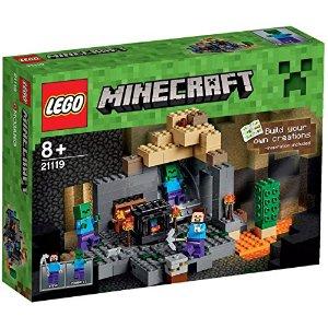 LEGO 21119 Minecraft The Dungeon组合