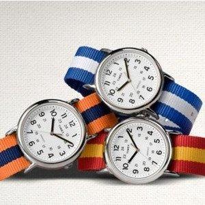 From $15.08 Timex Weekender Varsity Row Analog Display Quartz Watch