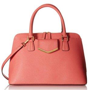 $81.69 Calvin Klein Saffiano Satchel