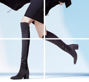 Up to $275 Off Stuart Weitzman Halftime Over the Knee Boots @ Saks Fifth Avenue