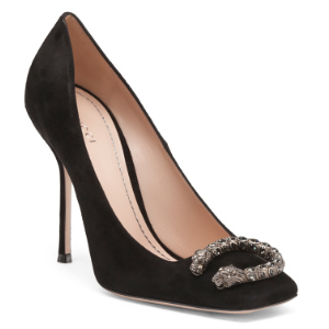 Made In Italy Suede Pumps - Shoes - T.J.Maxx