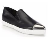 Miu Miu Cap Toe Slip-On Sneakers