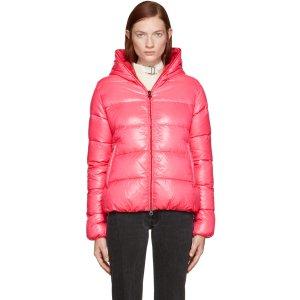 Duvetica: Pink Down Thiacinque Jacket | SSENSE