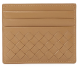Intrecciato Leather Card Case by Bottega Veneta