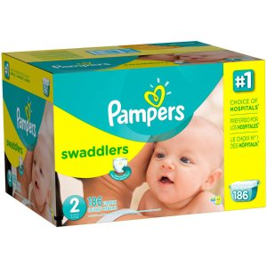 Pampers Swaddlers Diapers, Size 2 (Choose Diaper Count) - Walmart.com