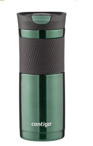 2 for $12.60 Contigo SnapSeal Vacuum-Insulated Stainless Steel Travel Mug 20-Ounce