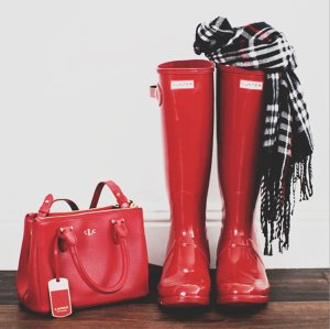 Up to 60% Off Select Hunter Boots and more @ 6PM.com