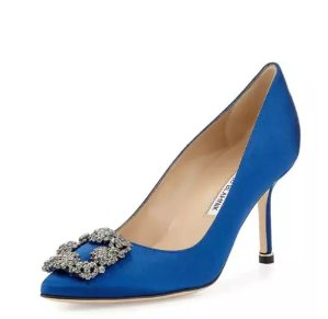 Up to $10000 Gift Card with Manolo Blahnik Purchase of $500 or More @ Bergdorf Goodman