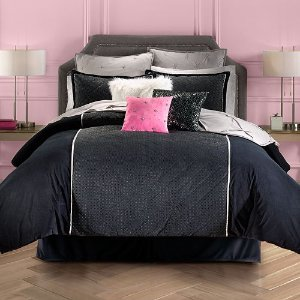 Juicy Couture Gilded Velour Comforter Set