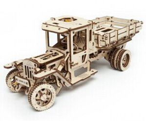 25% Off! Only $59.99! Ugears 3D Self Propelled Model UGM 11 Truck