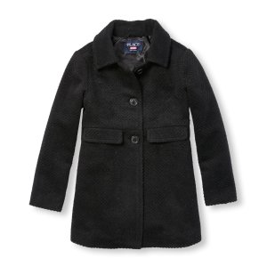 Girls Long Sleeve Dressy Peacoat | The Children's Place