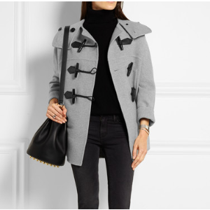 Burberry | Wool and cashmere-blend duffle coat | NET-A-PORTER.COM