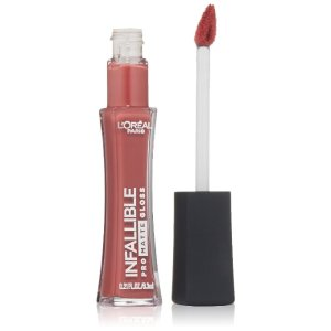 L'Oreal Paris Cosmetics Infallible Pro-Matte Gloss, Nude Allude, 0.21 Fluid Ounce