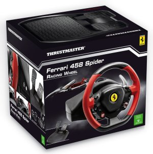 $109.99 + $50GC Thrustmaster Racing Wheel Ferrari 458 Italia Edition