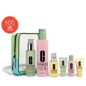 Great Skin Everywhere Gift Set For Oilier Skins (Skin Type III/IV) | Clinique