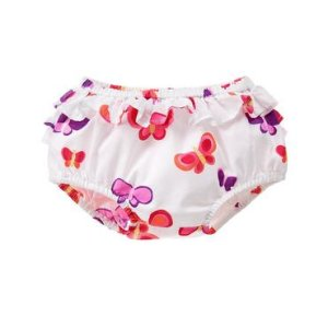 Baby White Butterfly Butterfly Bloomers by Gymboree
