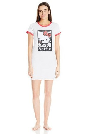 From $8.45 Hello Kitty Women's Modern Iconic Sleepshirt