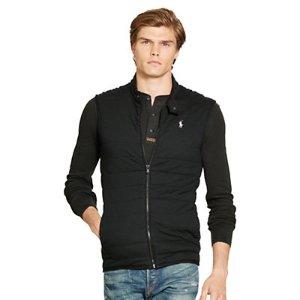 Pima Cotton Interlock Vest - New Arrivals � Men - RalphLauren.com