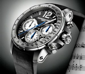 RAYMOND WEIL Nabucco Black Dial Titanium Men's Watch