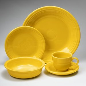 4 or 5-Piece Fiesta Dinnerware Place Setting