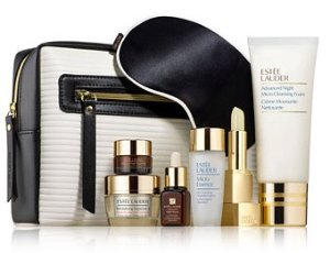 $39.5 (value $161)Estée Lauder 7-Pc. Skincare Superstars Set with Any Estee Lauder Purchase @ macys.com